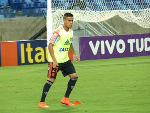 Everton, Treino Flamengo Cuiaba (Foto: Cahê Mota)