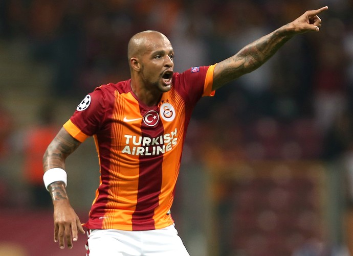 Felipe Melo Galatasaray (Foto: Getty Images)