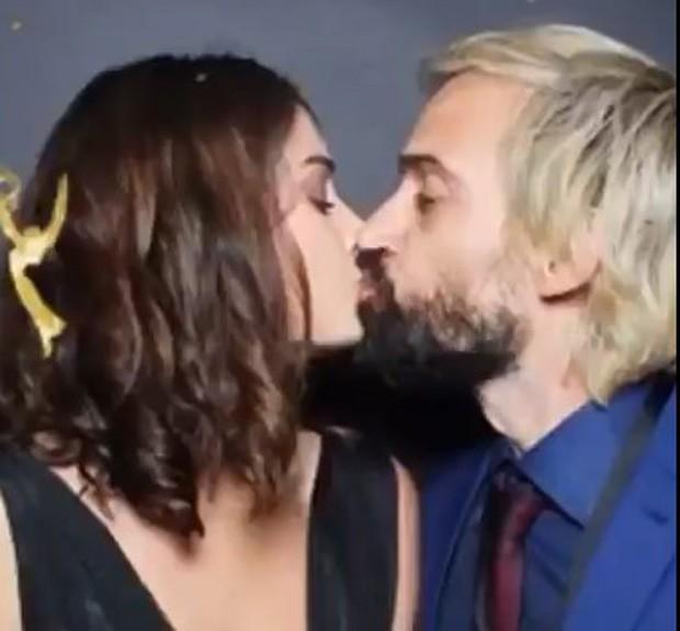 Júlio Andrade e a mulher, Ellen Cunha (Foto: Reprodução/Instagram)