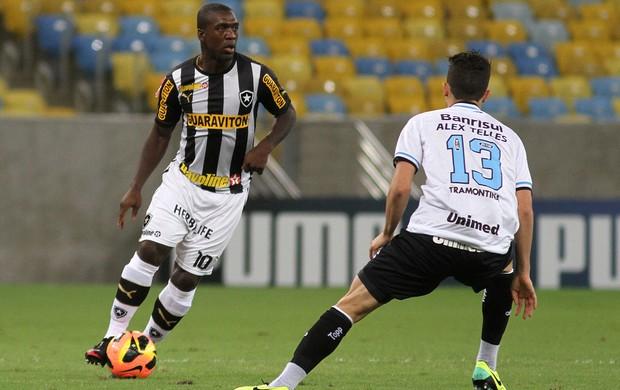 Seedorf Botafogo x Grêmio (Foto: Satiro Sodré)