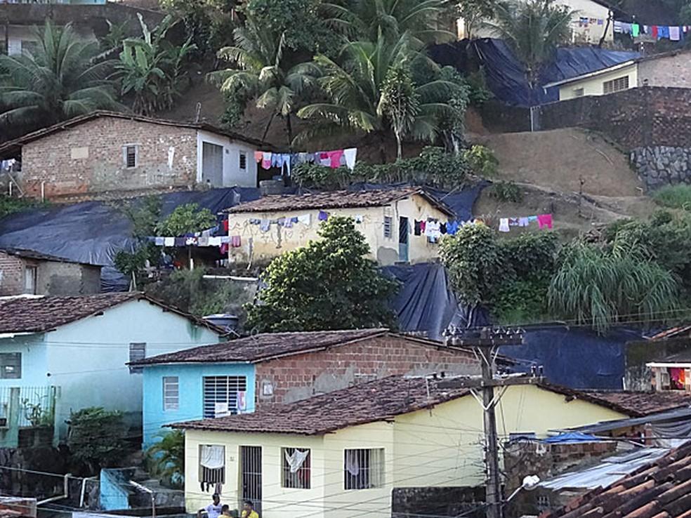 Recife tem 3 mil pontos considerados de alto risco de deslizamento (Foto: Alexandre Morais / G1)