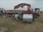 Polícia apreende bobinas de ferro avaliadas em R$ 85 mil em Indaiatuba