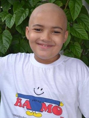 Marcos Luiz, de 9 anos, morreu na últim quarta-feira (2) (Foto: Arquivo pessoal)