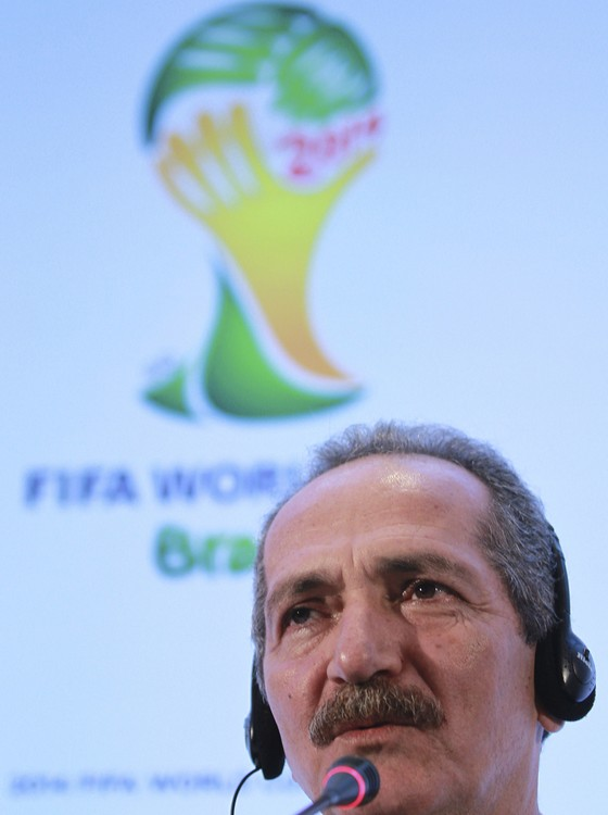 Aldo Rebelo, ministro do Esporte durante a Copa do Mundo de 2014 no Brasil (Foto: Getty Images)