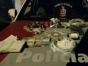 drogas taubaté (Foto: Divulgação/Polícia Militar)