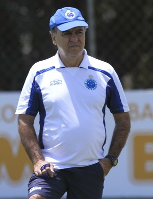 Marcelo Oliveira, técnico do Cruzeiro (Foto: Washington Alves/Light Press)