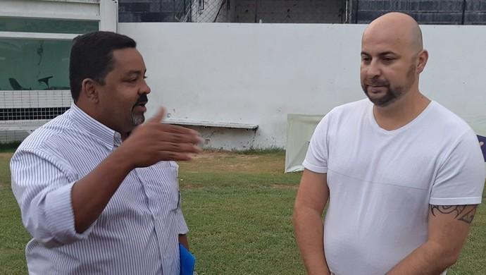 Márcio Granada e Licius Cavalcanti (Foto: Divulgação / Central)