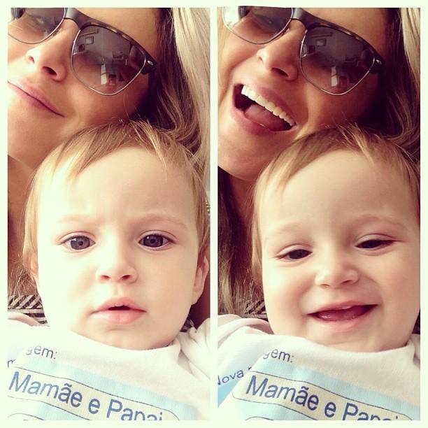 EGO - Marido posta foto de Claudia Leitte com caçula ...