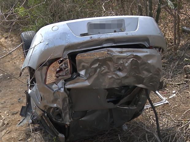 Acidente na BR-230 vitimou empresário de Campina Grande (Foto: Reprodução/TV Paraíba)