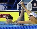 Com 15 dos 21 no time, nova geração da natação comanda seletiva dos EUA