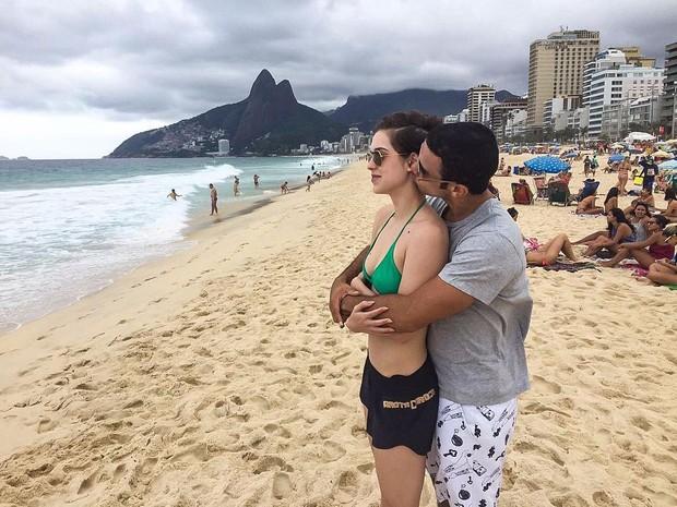 Sophia Abrahão e Sergio Malheiros (Foto: Reprodução/Instagram)