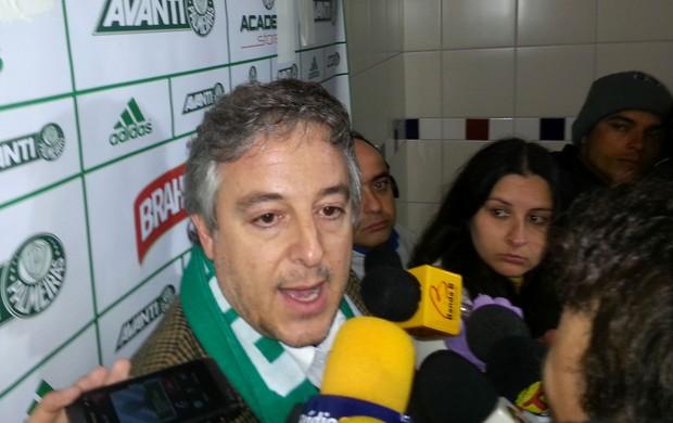 Paulo Nobre presidente Palmeiras (Foto: Marcelo Hazan)