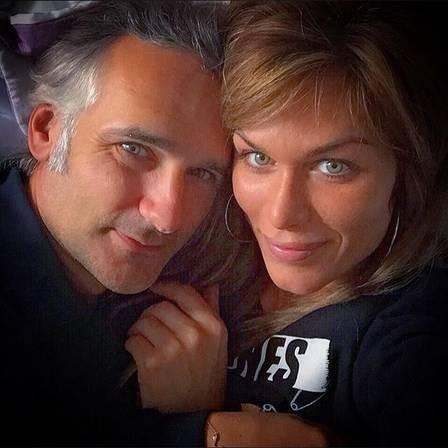 Ludmila Dayer e o marido brtiânico  (Foto: Reprodução/Instagram)