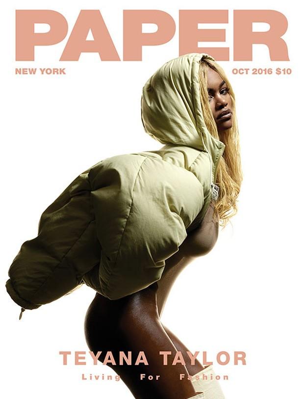Teyana Taylor (Foto: Reprodução/Paper Magazine)