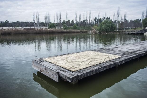 Coleção de tapetes é inspirada em paisagens do mundo (Foto: Divulgação)