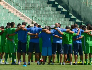 Guarani treino Brinco de Ouro (Foto: Oscar Herculano Jr / EPTV)