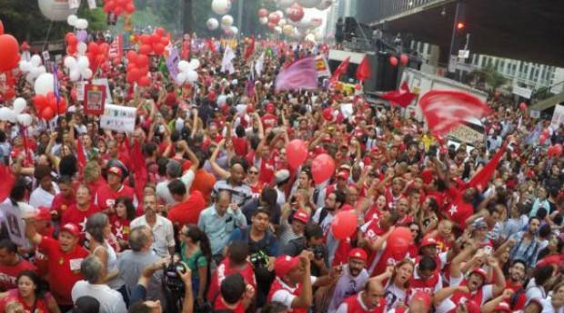 Manifestação (Foto: Reprodução/Agência Brasil)