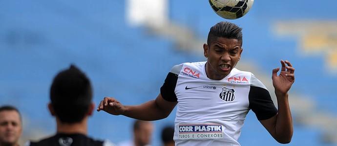 David Braz, zagueiro do Santos (Foto: Ivan Storti / Divulgação Santos FC)