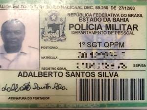 Sargento da reserva foi morto a tiros em ônibus durante assalto (Foto: Divulgação/Polícia Civil)