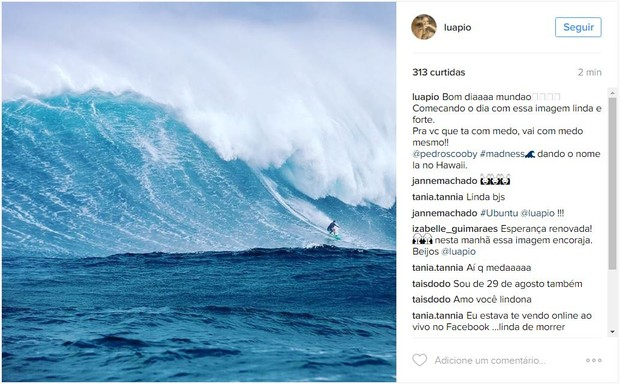 Luana Piovani posta foto de Pedro Scooby (Foto: Instagram / Reprodução)