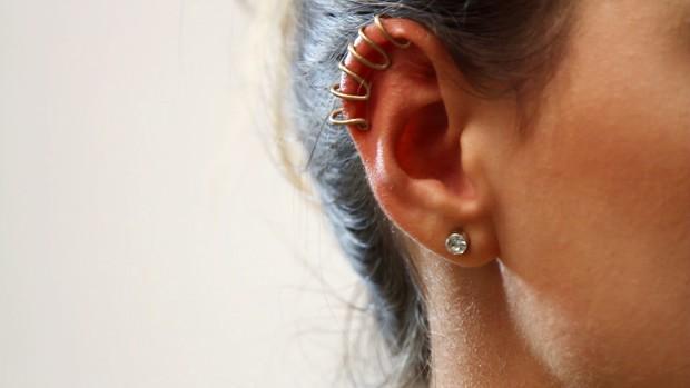 [BELEZA] - Ear Cuff - Vídeo Passo a passo (Foto: EGO)