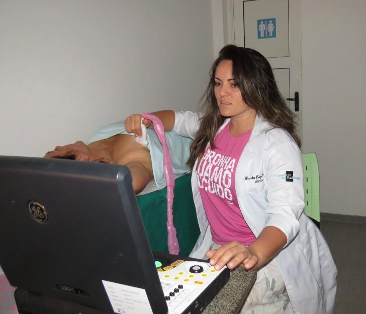 Ultrassonografia de mama em Noronha