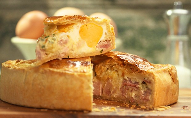 Torta de bacon com ovos (Foto: GNT)