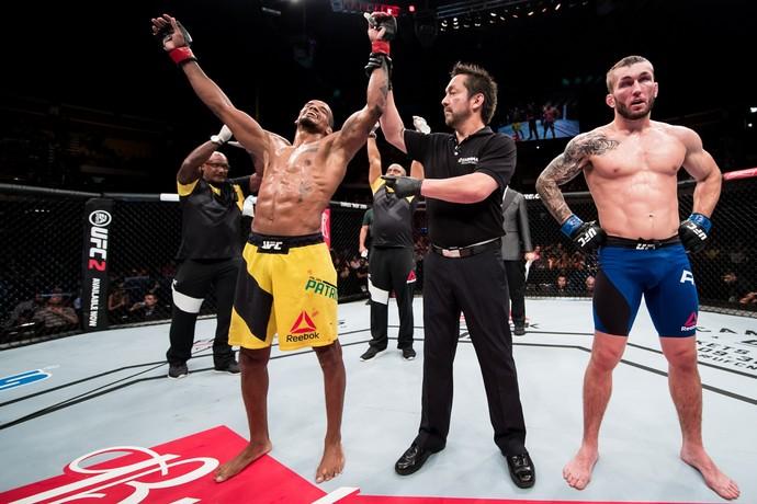Alan Nuguette, Stevie Ray, UFC Brasília, MMA (Foto: Getty Images)