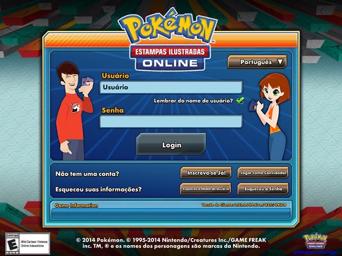 Pokémon TCG: como criar uma conta na nova versão para iPad (Foto: Reprodução/Murilo Molina)