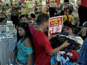 Vendas Comércio Belém Natal Aumentam (Foto: Reprodução/TV Liberal)