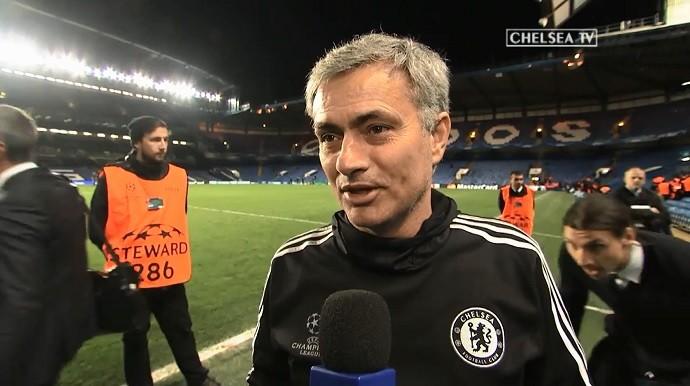 Ibrahimovic susto Mourinho