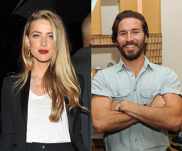 Amber Heard e Mark Wystrach (Foto: Getty Images)