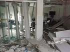 Agência bancária é explodida na Bahia e fica totalmente destruída