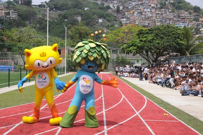 Lançamento Mascotes 2016 (Foto: André Durão)