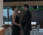'Pega pega': Luiza (Camila Queiroz)e Eric (Mateus Solano) | Reprodução