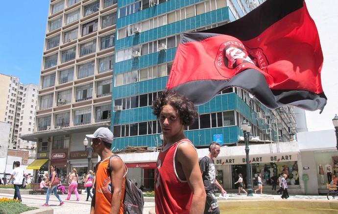 torcida Curitiba final Copa do Brasil Atlético-PR contra Flamengo (Foto: Alexandre Alliatti)