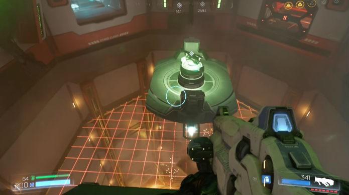 Doom: agora é só pegar sua merecida BFG (Foto: Reprodução/Thomas Schulze)
