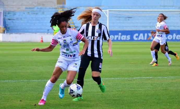 São José futebol Feminino x Santos futebol feminino (Foto: Danilo Sardinha/GloboEsporte.com)