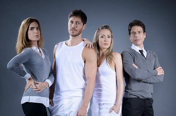 Kadi Moreno, Andre Bankoff, Isabella Lemos e Rubens Caribé (Foto: Divulgação)