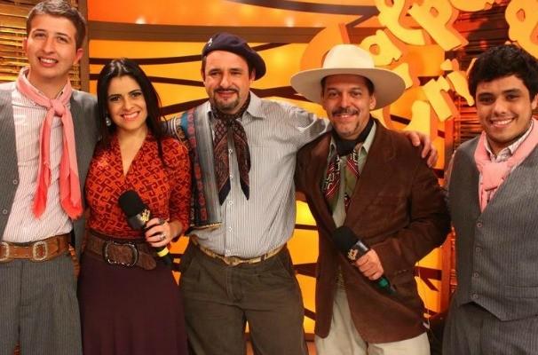 Pajada de Jadir Oliveira  (Foto: Verônica De Giacomo/RBS TV)