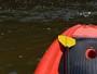 Confira as imagens do passeio de stand up paddle em rio de Porto Velho