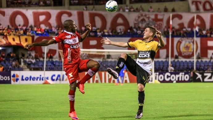 CRB x Criciúma, no Rei Pelé (Foto: Ailton Cruz/Gazeta de Alagoas)