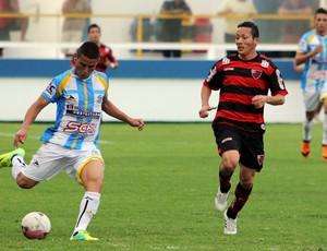 Lance do jogo Macaé 0 x 2 Oeste - Série C (Foto: Tiago Ferreira/Macaé)