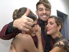 Gio apoia namoro: 'Quero que assumam' (Domingão do Faustão / TV Globo)