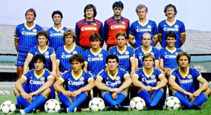 Hellas Verona 1985 (Foto: Reprodução / Site Oficial Hellas Verona)