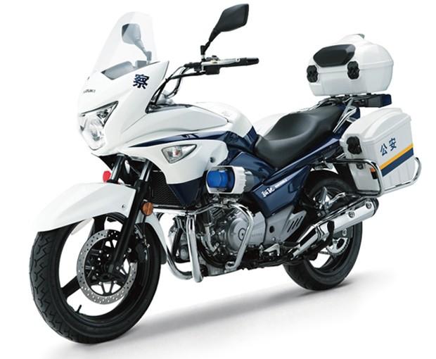 Suzuki Inazuma 250 polícia (Foto: Divulgação)