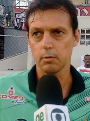 Sorato não é mais o técnico do Estrela do Norte (Foto: Wagner Chaló/GloboEsporte.com)