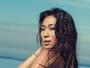 Dani Suzuki exibe corpo perfeito e conta segredo: 'Água e esportes'
