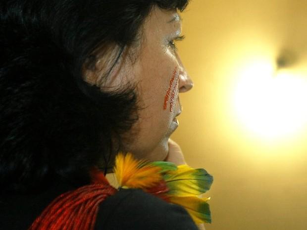 Socióloga da tribo Kaingang relata preconceito contra indígenas (Foto: Azelene Kaingang/ Arquivo Pessoal)