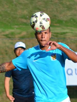 Luis Fabiano Tianjin Quanjian (Foto: Danilo Sardinha/GloboEsporte.com)